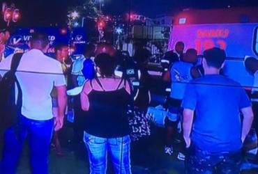 Acidente envolvendo ônibus deixa feridos na Av. Vasco da Gama | Reprodução | Rede Record