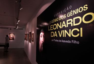 Exposição em Salvador homenageia o artista italiano Leonardo da Vinci   Elói Corrêa   GOVBA