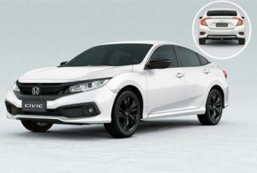 Civic 2020 tem mudanças sutis e versão LX   Divulgação
