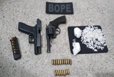 Suspeitos de tráfico morrem e arma australiana é apreendida na RMS | Divulgação | SSP-BA