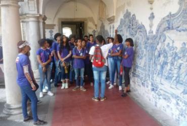 Estudantes de Abrantes têm aula de campo no Pelourinho