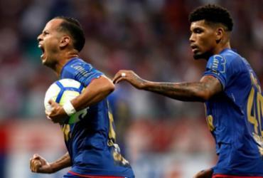 Na raça, Bahia arranca empate com o Goiás | Raul Spinassé | Ag. A TARDE