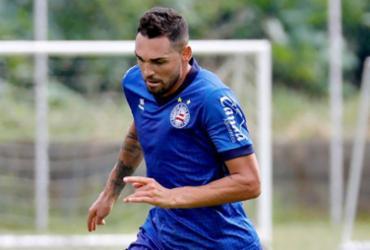 Exame não aponta lesão, mas Gilberto é dúvida contra o Atlético MG | Felipe Oliveira | EC Bahia
