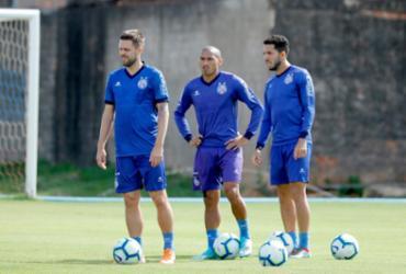 Nino Paraíba treina com bola e deve enfrentar o Goiás   Felipe Oliveira   EC Bahia