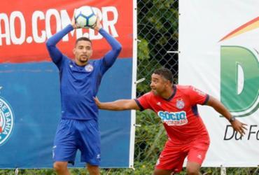 Bahia encerra preparação com recreativo e bolas paradas   Felipe Oliveira   EC Bahia