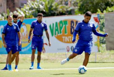 Sem Nino, Bahia dá sequência na preparação visando o Goiás   Felipe Oliveira   EC Bahia