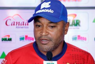 Guerra conquista confiança de Roger e deve ser titular contra CSA   Felipe Oliveira   EC Bahia