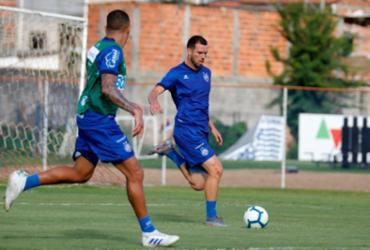 Sem Roger Machado, Bahia retoma treinos no Fazendão   Felipe Oliveira   EC Bahia