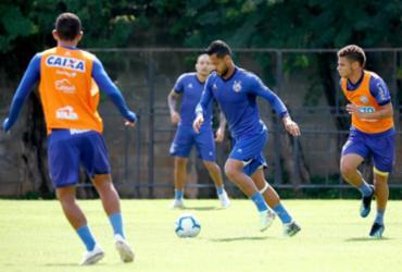 Bahia faz ultimo treino antes de embarque para Minas Gerais | Felipe Oliveira | EC Bahia