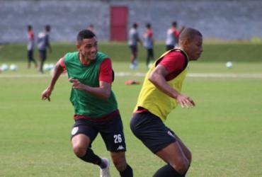 Trabalho de movimentação é foco no treino do Vitória | Divulgação | EC Vitória