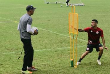 Vitória aprimora parte física e finalização para duelo com o CRB | Divulgação | EC Vitória