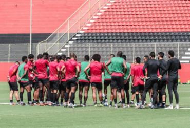 Vitória finaliza preparação com treino tático na Toca | Letícia Martins | EC Vitória