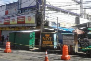 Prédio antigo de Feira de Santana corre risco de desabar | Reprodução | Acorda Cidade