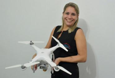 Oportunidades de trabalho e negócios surgem com os drones | Shirley Stolze | Ag. A TARDE