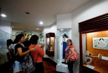 Memorial registra os passos da nova santa | Joá Souza | Ag. A TARDE