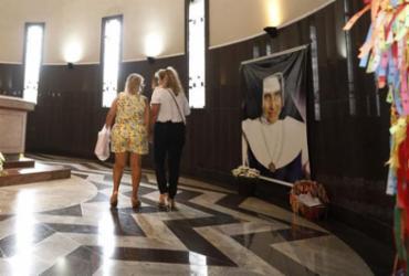 Santuário de Irmã Dulce é interditado; corpo da santa fica em túmulo provisório | Joá Souza l Ag. A TARDE l 12.8.2019