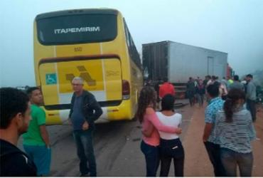 Motorista de ônibus morre em acidente na BR-101 | Reprodução | Radar64