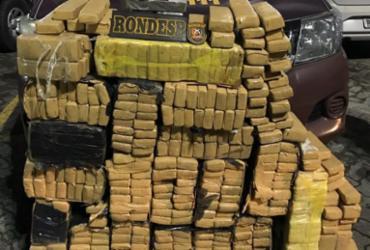 Dupla é presa com meia tonelada de maconha na Boca do Rio | Divulgação | SSP