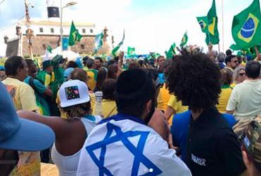 Manifestantes protestam contra projeto de lei de abuso de autoridade | Reprodução | Bahia Direita