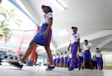 O poder da farda: quase 60 cidades da Bahia apostam na militarização das escolas públicas | Joá Souza / Ag. A TARDE