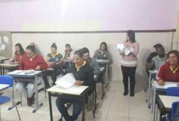 Estudantes de Morro do Chapéu participam de simulados do ENEM