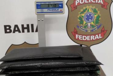 Mulher é presa em aeroporto ao tentar embarcar com cocaína | Divulgação | Polícia Federal
