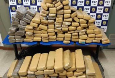 Mais de 100 kg de maconha são apreendidos em Vitória da Conquista | Divulgação | PRF