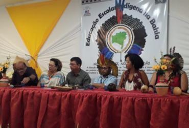 Professores de escolas indígenas participam de formação em Paulo Afonso