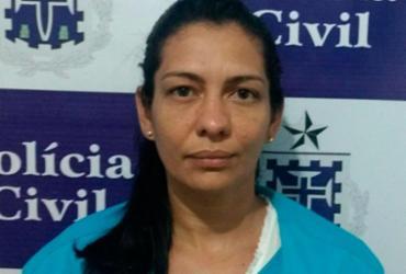 Suspeita de assalto a bancos e carros-fortes é presa em Cruz das Almas | Divulgação | Polícia Civil