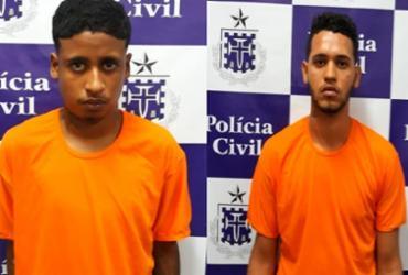 Homens são presos por suspeita de homicídio em Mussurunga | Divulgação | Polícia Civil