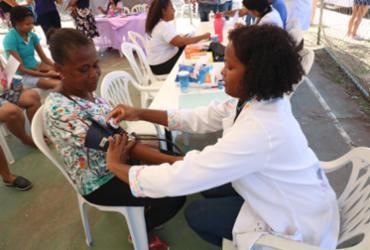 Prefeitura em Ação oferece serviços de saúde à população