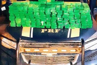 Dois homens são presos com 82kg de maconha na BR-116 | Divulgação I PRF