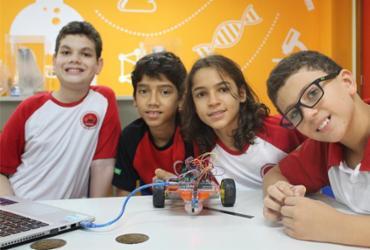 Robô criado por estudantes baianos participa da Olimpíada Brasileira de Robótica | Divulgação