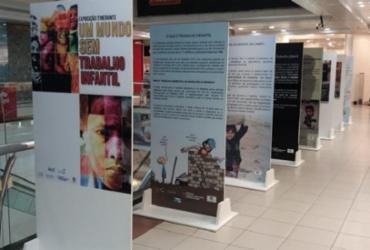 Exposição gratuita alerta sobre trabalho infantil | Divulgação