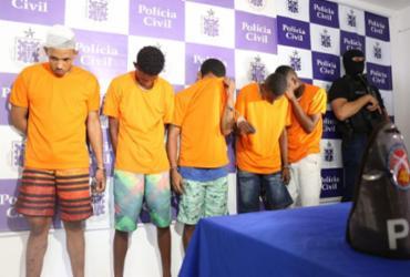 Quinteto que fez reféns no Nordeste de Amaralina tinha passagens pela polícia | Alberto Maraux | Divulgação | SSP-BA
