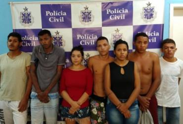 Sete pessoas são presas por tráfico de drogas em Senhor do Bonfim | Divulgação | Polícia Civil