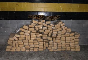 Carga com 150 kg de maconha prensada é apreendida em Simões Filho | Divulgação I SSP