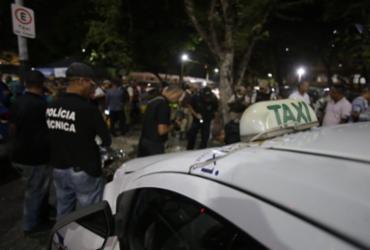 Taxista é morto a tiros por colega de trabalho no Campo Grande | Raul Spinassé l Ag. A TARDE