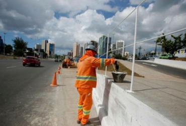 Trechos da Av. ACM passarão por alterações por conta de obras do BRT | Joá Souza | Ag. A TARDE