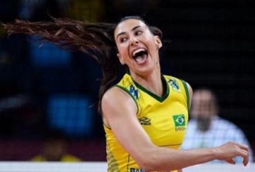 Com retorno de veteranas, seleção brasileira feminina vence Argentina em amistoso | Divulgação I FIVB