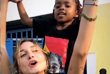 Xuxa se irrita com críticas a Sasha por trabalho voluntário na África | Reprodução | Instagram