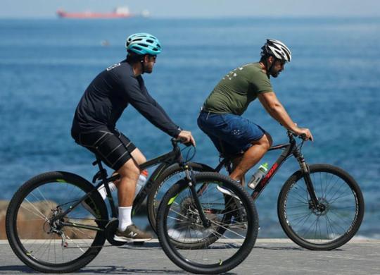 No Dia do Ciclista, campanha alerta sobre uso seguro da bicicleta | Rafael Martins | Ag. A TARDE