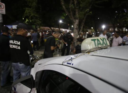Taxista é morto a tiros por colega de trabalho na região do Campo Grande | Raul Spinassé l Ag. A TARDE