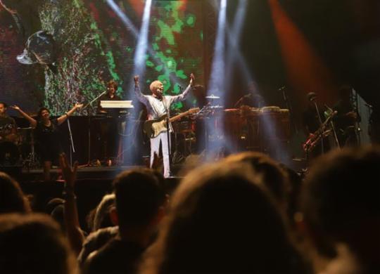 Gilberto Gil e Carlinhos Brown fazem shows no penúltimo dia da Semana do Clima | Uendel Galter l Ag. A TARDE
