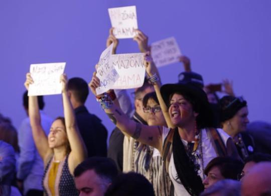 Abertura oficial da Semana Clima tem vaias contra ministro do Meio Ambiente | Raul Spinassé I Ag. A TARDE