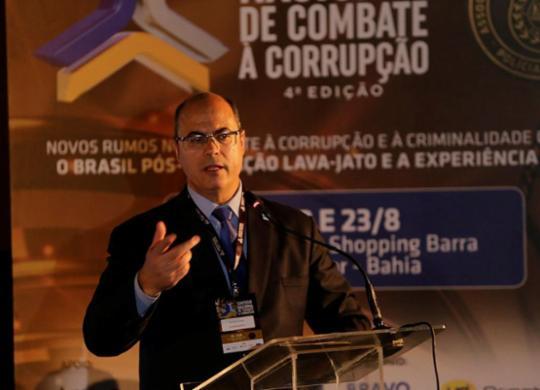 Witzel aponta reestruturação e autonomia da polícia como diretrizes de combate à corrupção | Luciano da Matta I Ag. A TARDE
