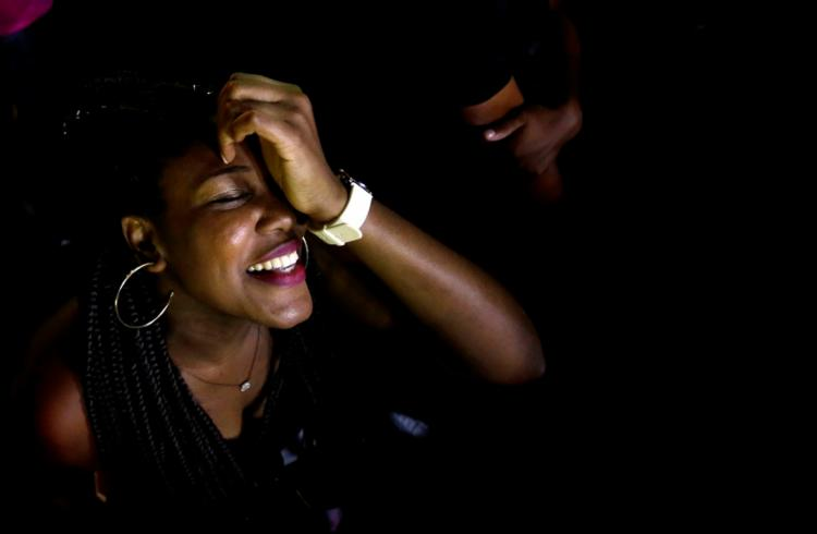 Marcele Gomes, na sofrência, com alegria. Foto: Felipe Iruatã / Ag. A TARDE