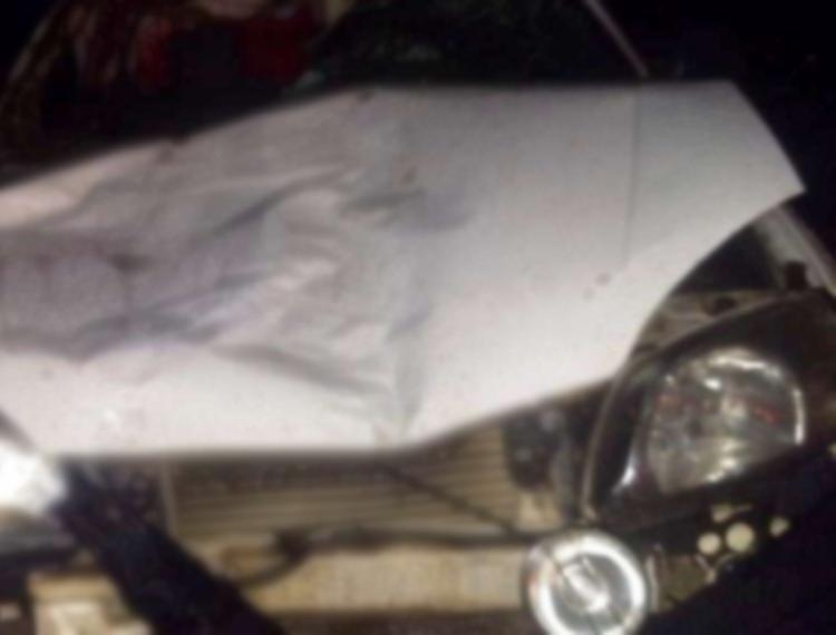 Ambulância ficou com a frente destruída - Foto: Reprodução | Site Espaço Aberto