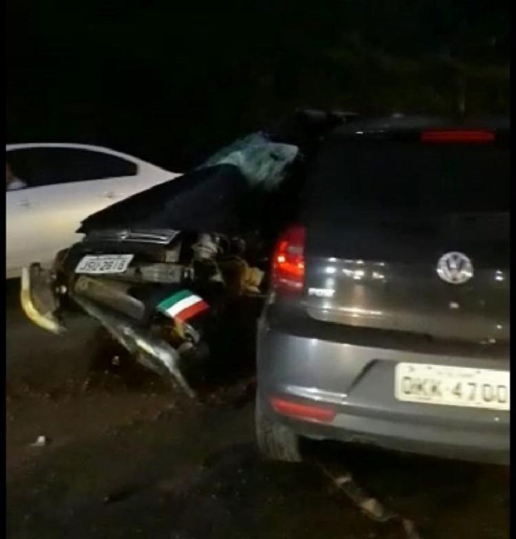 Acidente ocorreu na noite desta sexta, em Santo Antônio de Jesus - Foto: Reprodução