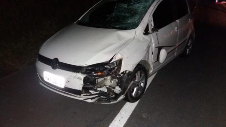 Motorista afirmou que ainda tentou frear, mas não conseguiu impedir a colisão
